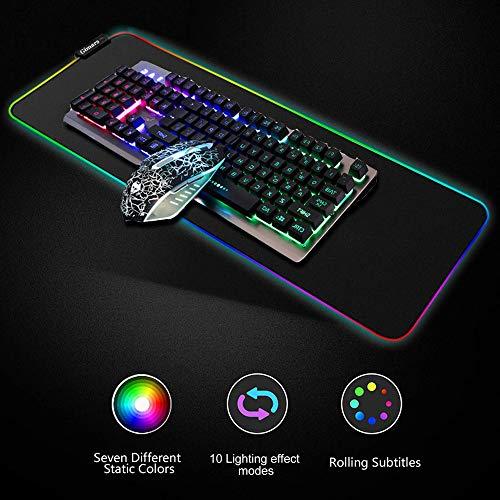 Zoom IMG-1 gimars xxl tappettino da gaming