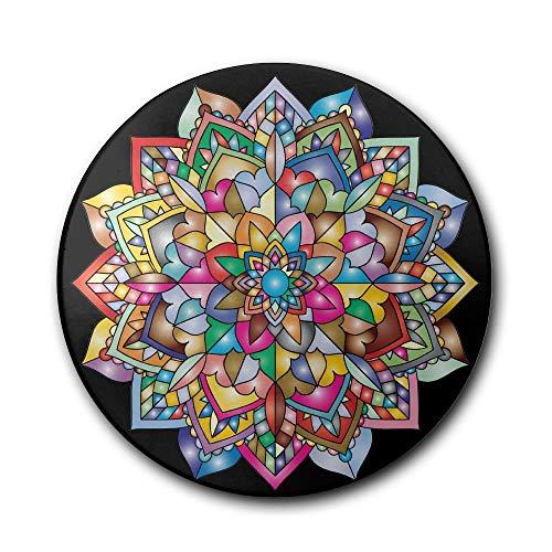 goodsale2019 Prismatic Floral Absorbent Steinuntersetzer, Untersetzer-Set, Untersetzer Cork Coasters Absorbent, Drink Spills Coasters -