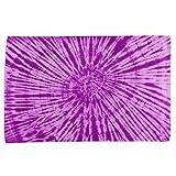 Purple Tie Dye All Over Sport Towel