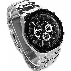 New CURREN WV006 Sport Water Hours Stainless Quartz Hand Clock Men Wrist Watch