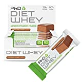 PhD Nutrition Diet Whey Bar, 50 g - Chocolate Cookie, Paquet de 12