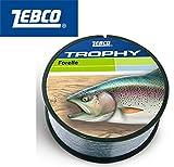 Zebco Trophy Schnur für Forelle 0,25mm 540m 5,0kg, Angelschnur für Forellen, Forellenschnur, Angelschnüre, Forellenangeln, Forellenfischen