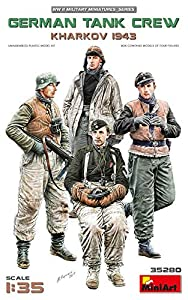 Unbekannt- German Tank Crew.Kharkov 1943 Figuras, Color Gris (MiniArt 35280)