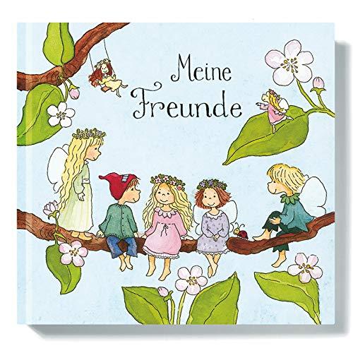 Freundebuch I Freundschaftsbuch vorgefertigte Seiten zum Ausfüllen von Outi Kaden, Elfen für Mädchen, Poesiealbum Grundschule, Kita, Schule, Grätz Verlag - Bff-spielzeug