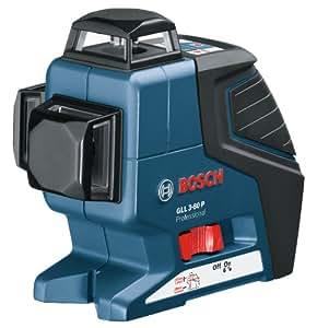 Laser à lignes GLL 3-80 Professionnel Bosch 0601063305 Gamme(s) de mesure (avec / sans récepteur) 80 m / 40 m m