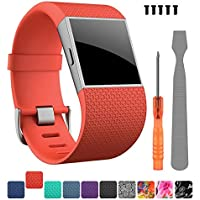 Fitbit Surge Strap,DigiHero Adjustable Replacement Straps Bands Accessories for Fitbit Surge