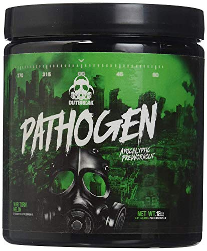 Outbreak Nutrition Pathogen Pre Workout Pulver Double Berry 330g - Xtreme Berry