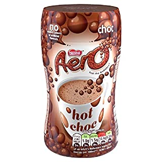 Aero Instant Bubbly Hot Chocolate Drink, 288 g