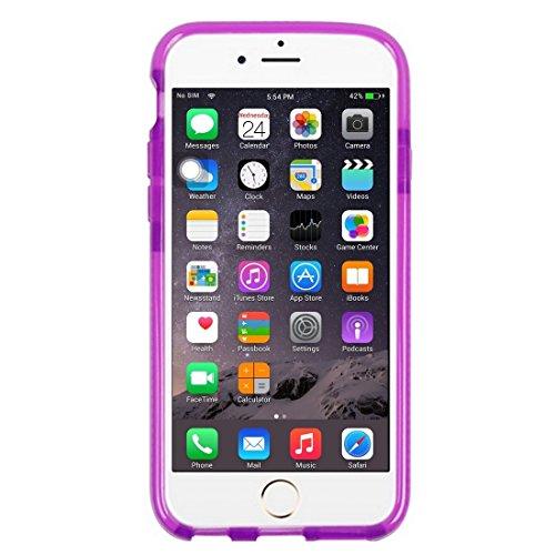 Wkae Case & Cover Pour iPhone 6 Plus &6s Motif plus Tridimensional diamant étui de protection TPU ( Color : Red ) Purple