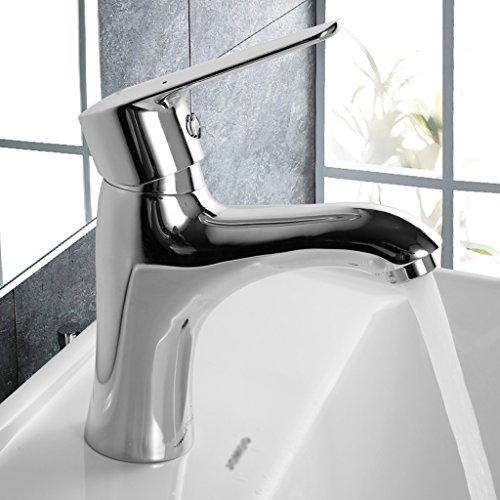 Bassin d'eau Tap Lavabos Hot And Cold Robinets Toilettes Lavabos Robinets Plomberie Robinet avec eau chaude et d'eau d'entrée froide