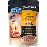 HiLife Tempt Me Cat Food Just Chopped Chicken in Jelly