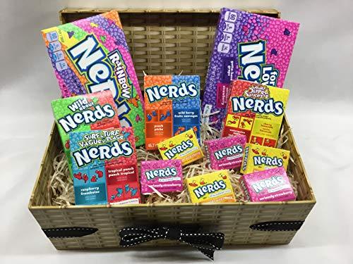 Nerds Sweet Gift Hamper - Rainbow Nerds - American Sweet Gift Box ... -