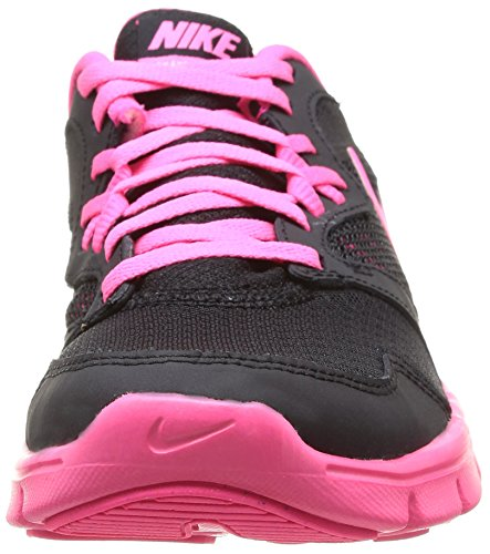Nike Flex Experience 3 Gg, Chaussures de running fille Multicolore (Black/Hyper Pink-White)