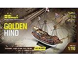 Krick Golden Hind Bausatz 1:110 Mini Mamoli