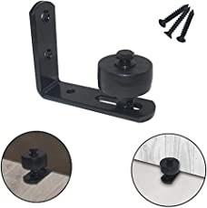 Outgeek Floor Guide Adjustable Creative Stay Roller Bottom Guide for Barn Door