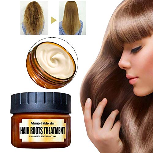 Cherishly Advanced Molecular Hair Roots Treatment Hair Conditioner, Hydrating Argan Oil Hair Mask And Deep Conditioner, Recover Elasticity Hair for Dry/Damaged 60ml