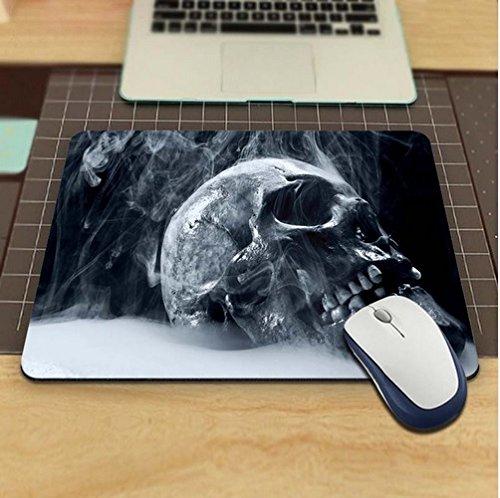 rauchender cráneo Calavera Alfombrilla Antideslizante, Resistente al agua 220x 180veredeln su escritorio con este elegante para ratón