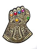 #6: Thanos Infinity Gauntlet: Handmade Avengers Infinity War Collectible Bookmark/Coaster