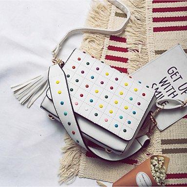 Frauen 's Schöne CasualShoulder Tasche White