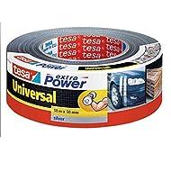 3er Bundle tesa Reparaturband extra Power Universal, 50m x 50mm silber
