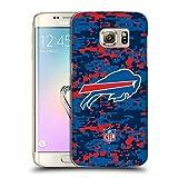 Head Case Designs Offizielle NFL Digitales Camouflage 2018/19 Buffalo Bills Ruckseite Hülle für Samsung Galaxy S7 Edge