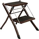 Eisenkunst Tritt Hocker Falten Pedal Stuhl Aufsteigen 2-Stufen-Leiter