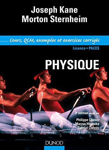 Physique pour les sciences de la vie et de la santé : Cours , QCM et exercices corrigés