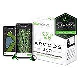 Arccos Golf Arccos 360Golf Sistema de Seguimiento de Rendimiento, Unisex, 360, Negro/Verde, na