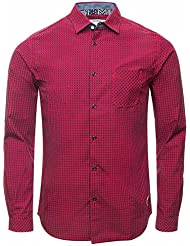 Jack & Jones Jjorcard Shirt One Pocket L/s-Camisa Hombre,