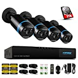 H.View Home Security HD 1080P PoE CCTV Camera System HD NVR Security CCTV