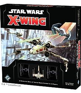 Star Wars Games FFGSWX01 X-Wing - Mini Juego de Mesa, diseño de Star Wars
