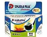 Dubaria 802 Black Ink Cartridge Compatib...