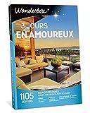 Wonderbox - Coffret cadeau couple 3 JOURS EN AMOUREUX - plus de 1.000 séjours en hôtels de charme, moulins, yourtes, roulottes, maisons d'hôtes authentiques pour 2 personnes