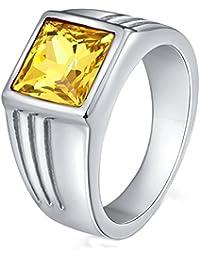 925 Sterlingsilber Zirkonia Schwarz Damen-ring / Verlobungsring
