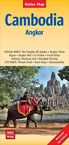 Cambodia - Angkor Polyart 1: 1,5 Mio. - Nelles Map (Nelles Map / Strassenkarte)
