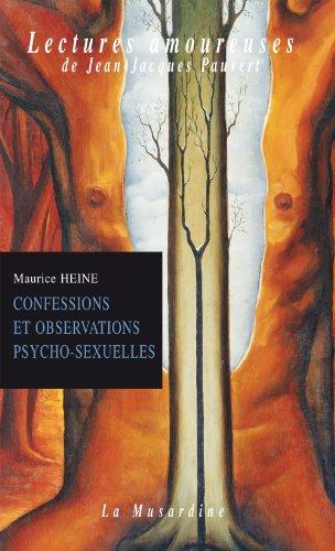 Livre Recueil de confessions et observations psychologiques (Lectures amoureuses t. 32) pdf, epub ebook