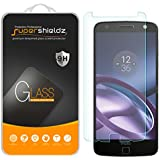 Supershieldz [2unidades] Motorola Moto Z Protector de pantalla de cristal templado, antiarañazos, antihuellas, sin burbujas