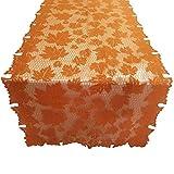 Fatalom tovaglia, Pizzo Maple Leaf Runner Spice Thanksgiving Harvest Cena Decor 152x 213cm