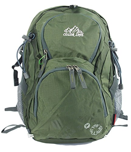 GFM Multi pocketed Small Light weight Fabric Backpack (ONBA)(MNAD)(507-JTN)