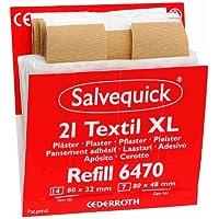 Salvequick Pflasterspender und refill - verschiedene Sorten (einzeln, dunkelorange (Stripe elastisch XL) - Ref... preisvergleich bei billige-tabletten.eu