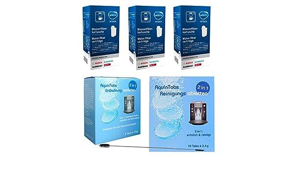 5x SIEMENS BOSCH tz70003 Brita Intenza Filtro acqua tcz7003 Set Risparmio 17000705