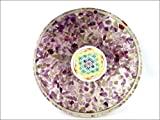 #2: JET Amethyst Orgone Tea Coaster Flower of Life Round 40 Page Booklet Jet International Crystal Therapy India
