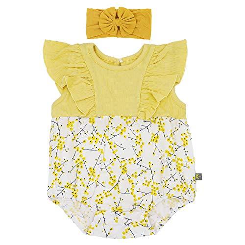 Flyish Baby Mädchen Strampler Kleinkinder Sommer Outfit Mädchen Schmetterling à