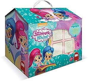 MULTIPRINT Shimmer & Shine - Juegos de Sellos para niños, Caucho, Madera, 3 año(s), Italia, 246 mm, 171 mm
