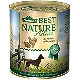 Dehner Best Nature Hundefutter, Adult Huhn und Kaninchen mit Nudeln, Probiergröße, 400 g