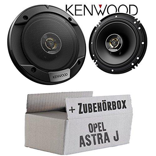 Lautsprecher Boxen Kenwood KFC-S1676EX - 16cm 2-Wege Koax Auto Einbauzubehör - Einbauset für Opel Astra J - JUST SOUND best choice for caraudio