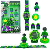 #3: Ayezent Hulk Avengers Kids Toy Watch with Rotating Hulk Toy Fidget Spinner