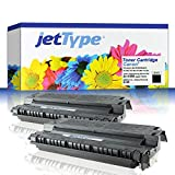 2x jetType Toner ersetzen Canon E30 für FC-120 / FC-100 / FC-290 / FC-224, schwarz, 2x 4.000 Seiten