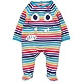 Bóboli Unisex Baby Spieler Velour Play Suit For, Mehrfarbig (Stripes 9546), 62