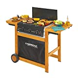 Campingaz Adelaide 3 Woody Barbecue a Gas, Scuro